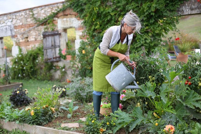 jardin y huerta ecologica