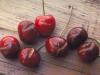 Reduccion de partidura en cerezas gracias al uso de hormonas