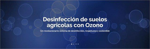 Tratamiento desinfección de suelo con ozono en Agricultura